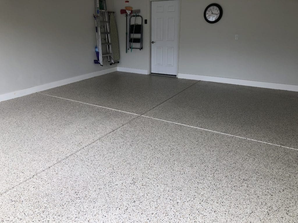 Titan garage floor after, contact us