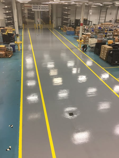 Phillips New Kensington Plant flooring