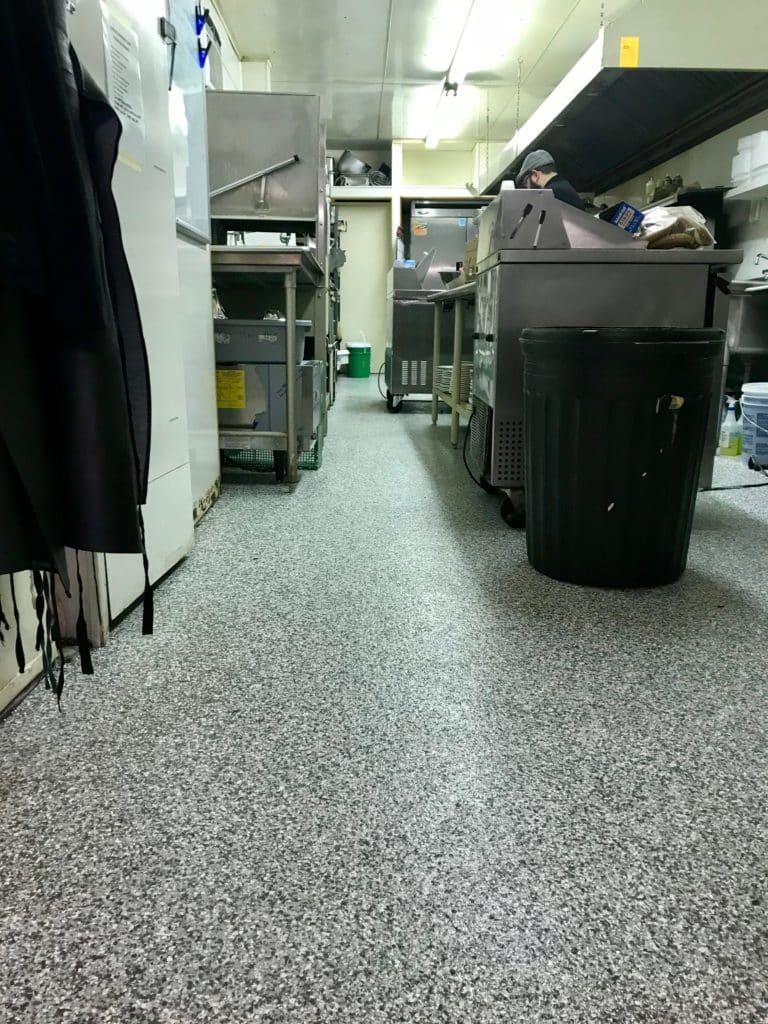 titan commercial flooring, flexmar polyaspartic