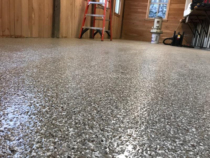 titan residential floorng, flexmar polyaspartic