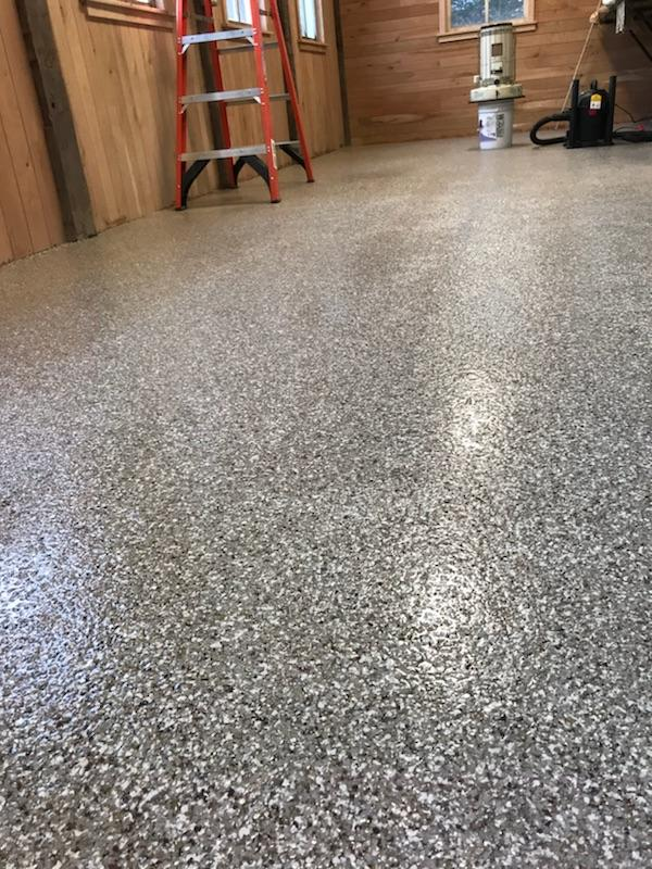 titan residential flooring, flexmar polyaspartic